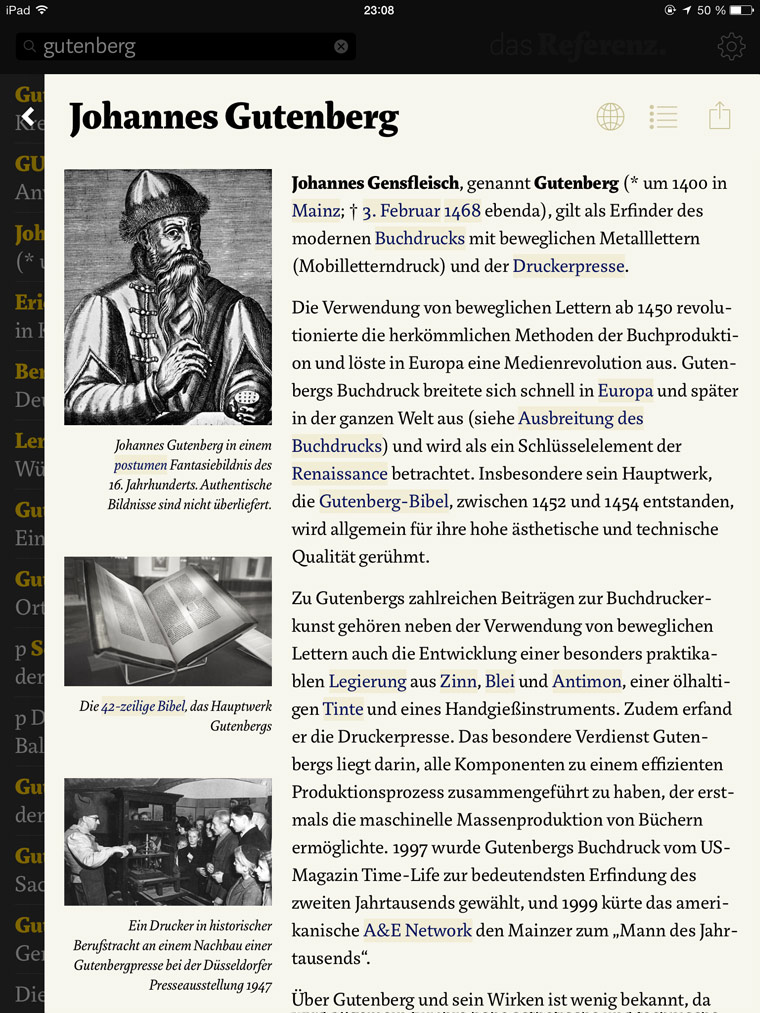 Article Gutenberg